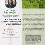 Past Event: Dr. Malini Ranganathan November 2nd